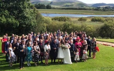 wedding lochside house