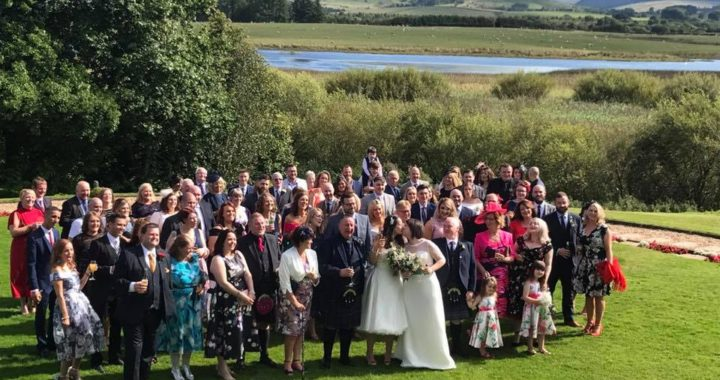 wedding lochside house