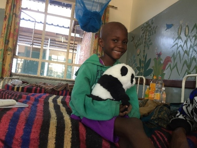 Angela - World child cancer appeal