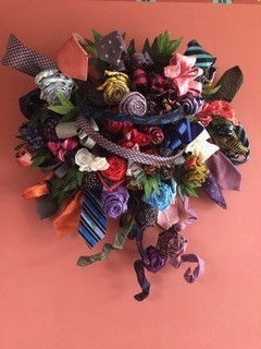 flower bouquet made from material